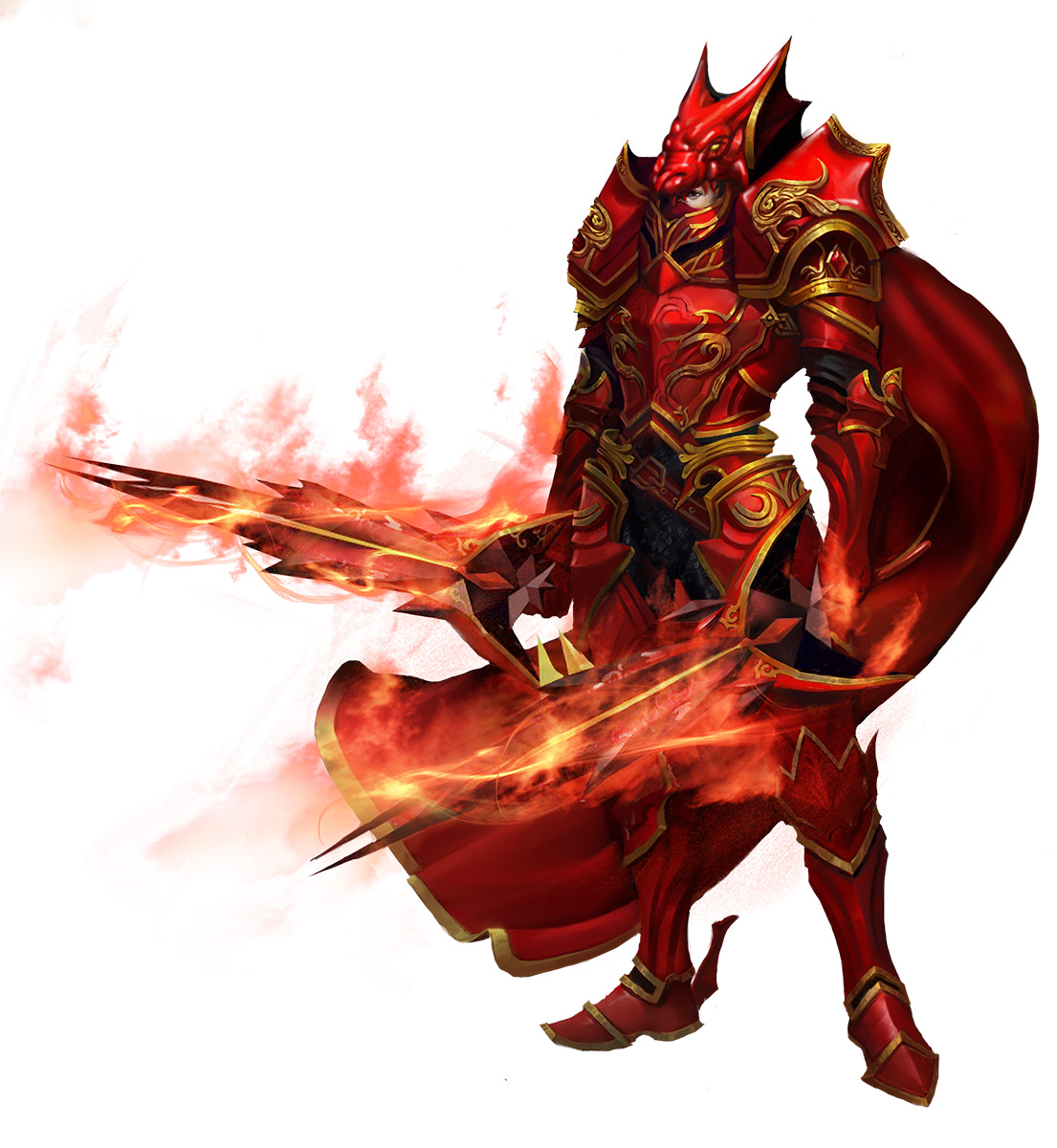 大天使之剑红龙战士