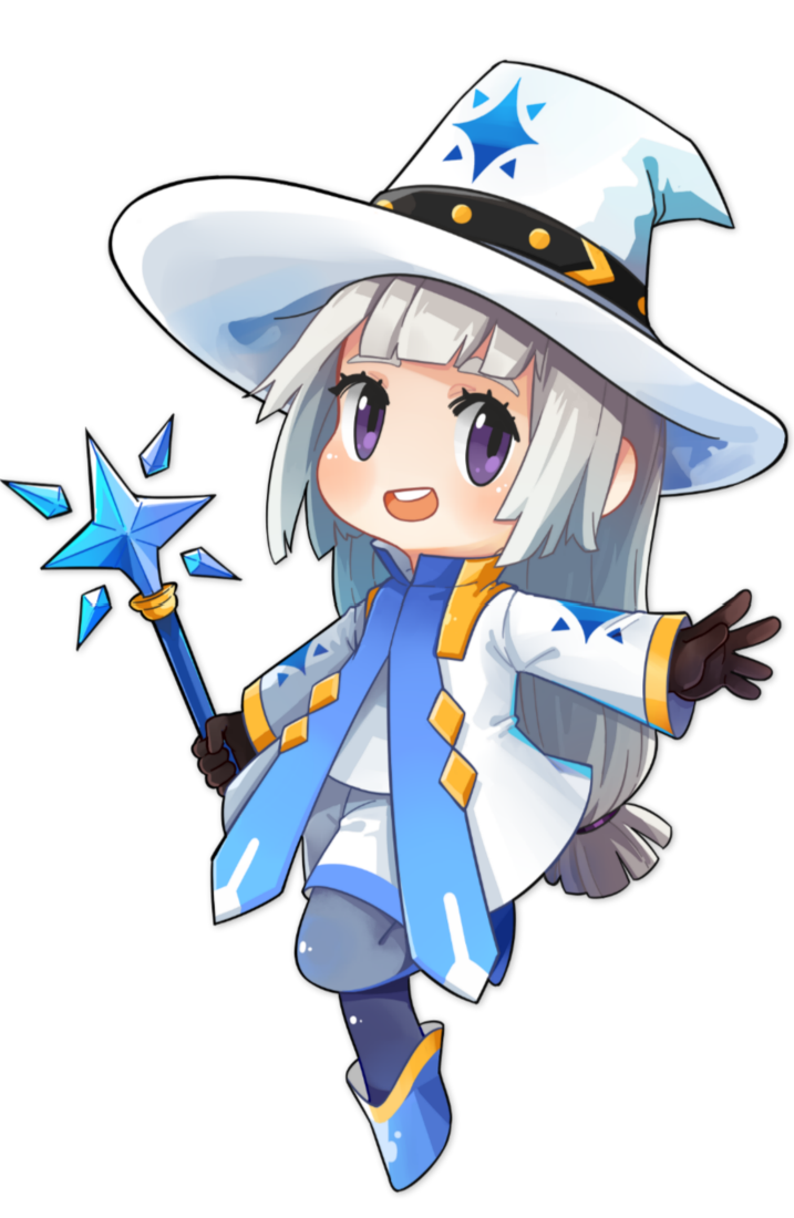 小小冒险村魔法师女
